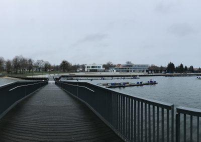 Stadthafen Senftenberg (Winter)